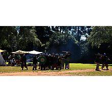 Viking Battle Scene Photographic Print