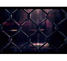 Through the fence... Photographic Print
