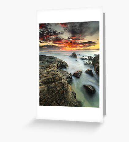 """A New Tomorrow"" ∞ Currumbin, QLD - Australia Greeting Card"