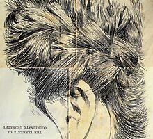 hair and ear study by Loui  Jover