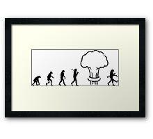 Nuclear Evolution Framed Print
