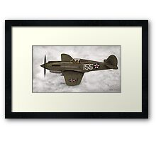 Curtiss P-40 Warhawk  Framed Print