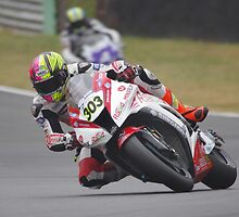 """#303 Keith """"The Bullet"""" Farmer - Rapid Solicitors Kawasaki ZX10R - BSB 2013 Brands Hatch by motapics"""