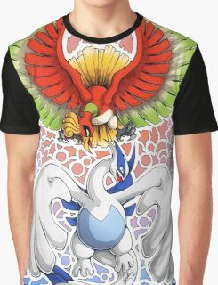 Ho-oh! Lugia! Graphic T-Shirt