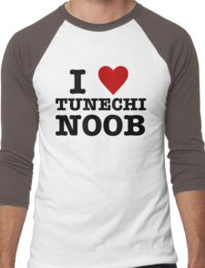 I Heart Tunechi Noob Men's Baseball ¾ T-Shirt