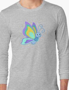 Cute Cartoon Butterfly Long Sleeve T-Shirt