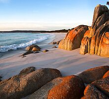 Winter Sunrise, Bay Of Fires by David Jamrozik