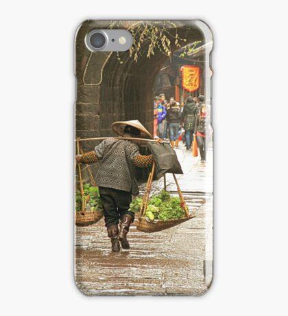 Vegetables Carrier iPhone Case/Skin