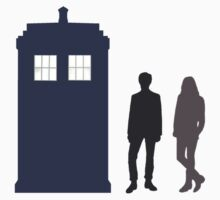 The Doctor and Amy Pond by Jayne Plant
