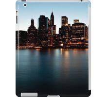 Lower Manhattan at Dusk iPad Case/Skin