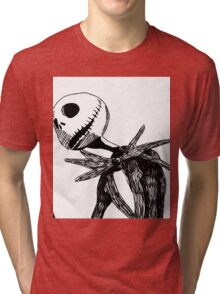 Jack - The nightmare before christmass Tri-blend T-Shirt