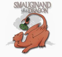 Smauginand the Dragon Tee Print One Piece - Long Sleeve