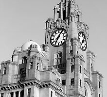 Royal Liver building Liverpool by Paul Madden