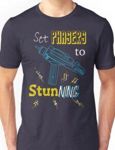 Set Phasers To Stunning Unisex T-Shirt