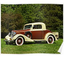 1933 Chevy Master Coupe Poster