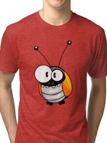 Cartoon bug Tri-blend T-Shirt