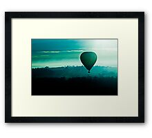 Ballooning Around Framed Print