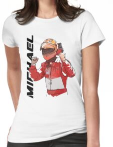 Michael Schumacher Womens Fitted T-Shirt