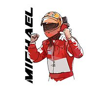 Michael Schumacher Photographic Print