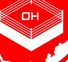 Ohio is for Wrestling Sticker