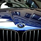 Blue BMW by Mark Malinowski