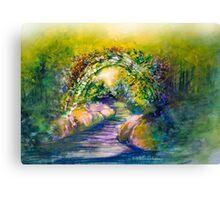 Imaginary Path Canvas Print