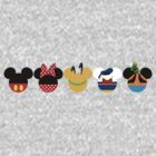 Mickey Mouse Clubhouse ~ The gang by sweetsisters