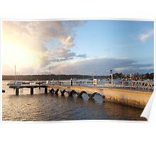 Sunset on Watson's Bay=Sydney Poster