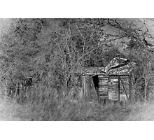 BW Carriage Photographic Print