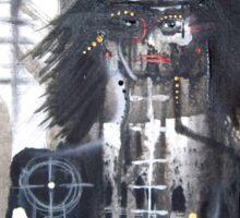 black bruxa Sticker
