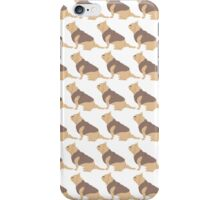 French Bull Dogs White 2 iPhone Case/Skin