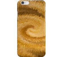 Golden Oatmeal Swirl iPhone Case/Skin