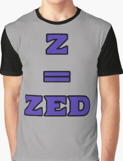 ZEQUALSZED Graphic T-Shirt