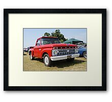 Ford F100 Truck Framed Print