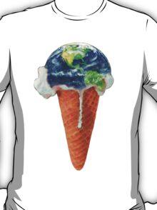 Ice Cream Global Warming T-Shirt