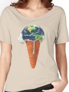 Ice Cream Global Warming Women's Relaxed Fit T-Shirt