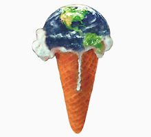 Ice Cream Global Warming Unisex T-Shirt