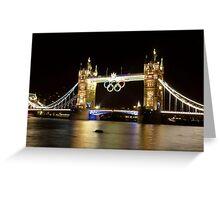 Olympic Bridge Greeting Card