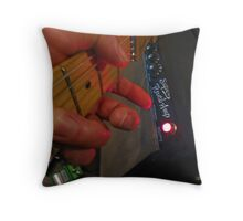 Mercury Blues in Gb Throw Pillow