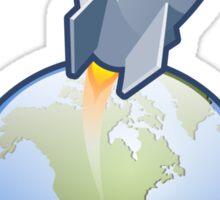 Rocket Launch Sticker