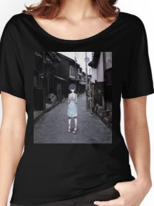 mini Rei in Tokyo Women's Relaxed Fit T-Shirt