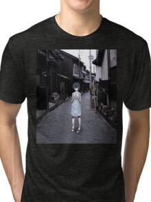 mini Rei in Tokyo Tri-blend T-Shirt