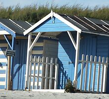 Beach Hut by Kelsey Leigh Hayes
