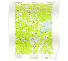 USGS TOPO Map New Hampshire NH Newmarket 329717 1956 24000 Poster