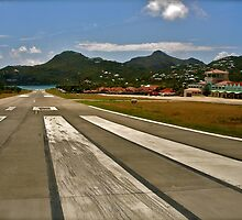Cleared for Takeoff @ St Barths by Missy Lamb