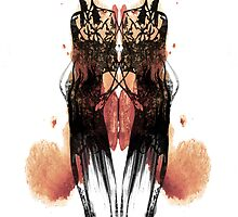 Ink Blot Ladies 07 by knkoehler