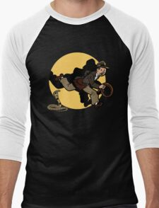 Why did it have to be snakes!? Men's Baseball ¾ T-Shirt