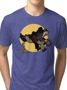 Why did it have to be snakes!? Tri-blend T-Shirt