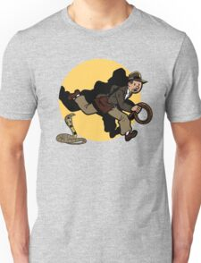Why did it have to be snakes!? Unisex T-Shirt
