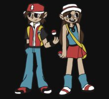 Trainer Twins by kaziisamazing